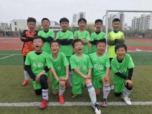 日中国際サッカー交流、中国サッカーチーム小学生
